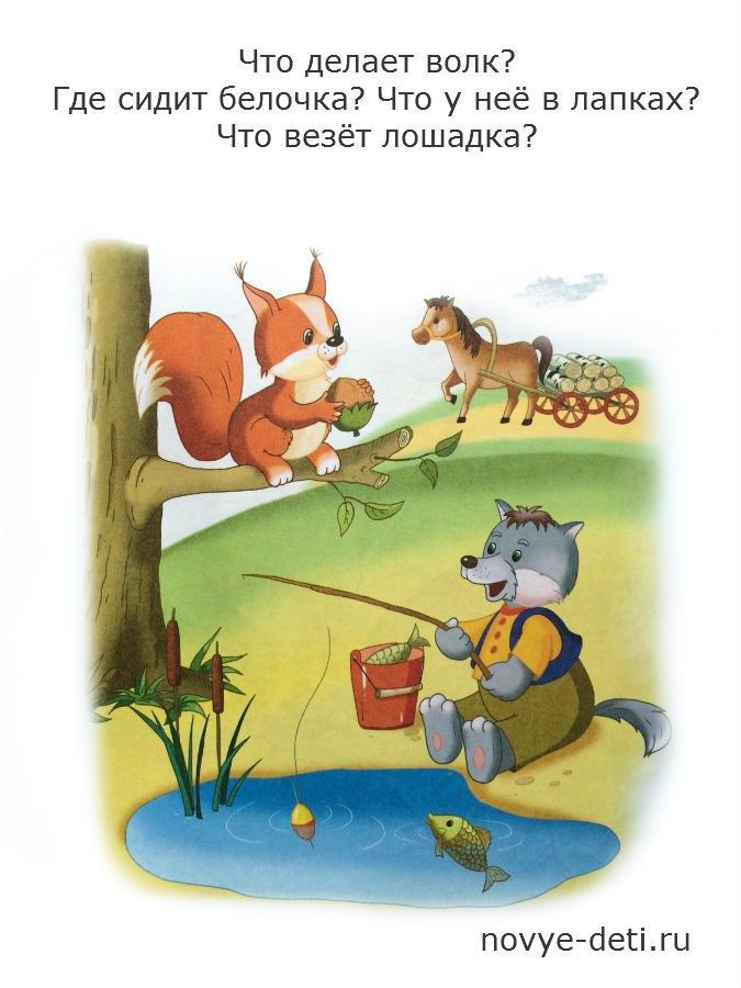 картинка давай расскажи мне, волк ловит рыбу