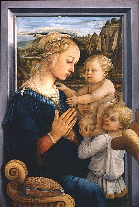 мадонна с младенцем филиппо липпи