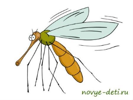 стих про комаров