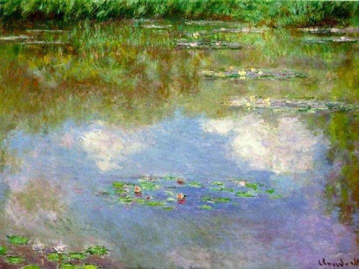 история картины водяные лилии клод моне