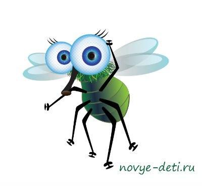 веселые озорные стихи муха