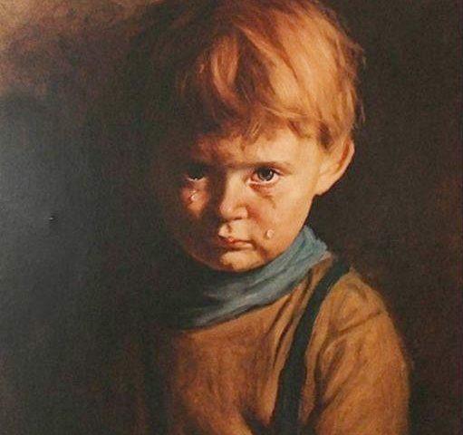плачущий мальчик художник джованни браголини
