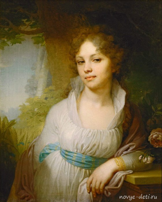 Портрет Марии Лопухиной. 1797 г