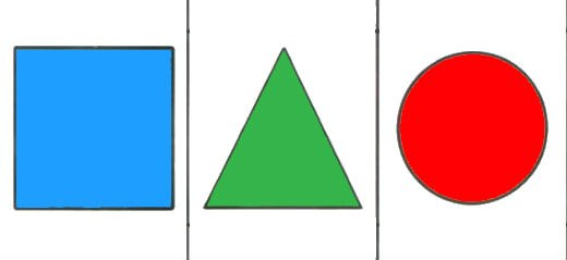 Геометрические Фигуры Для Дошкольников Картинки