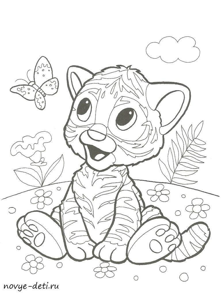 raskraska-tigrenok-2