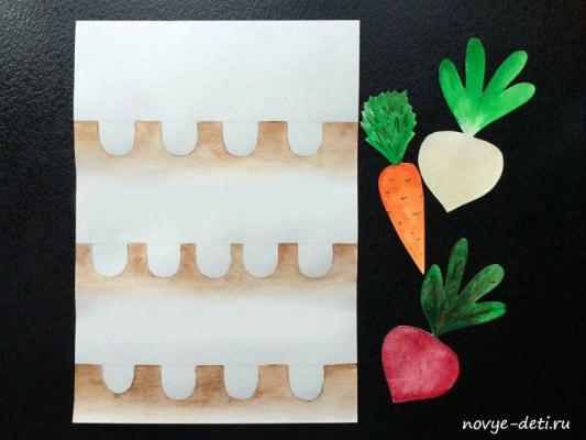детское творчество овощи огород