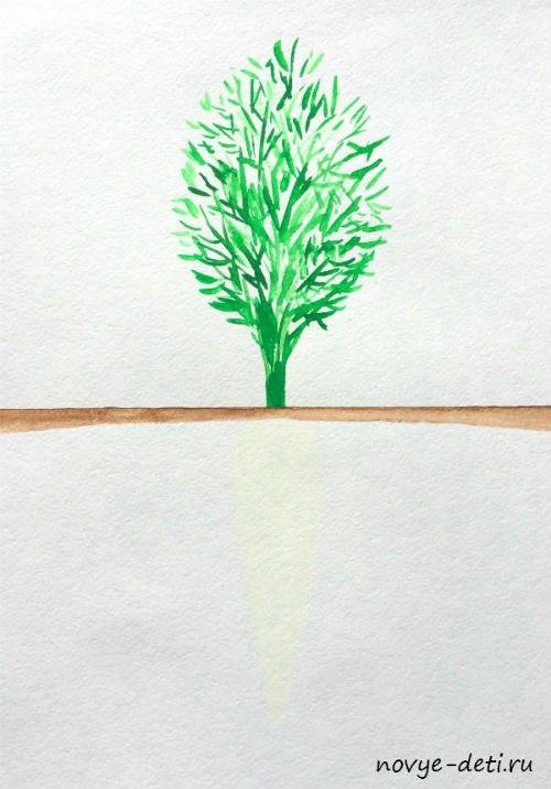 морковь детское творчество