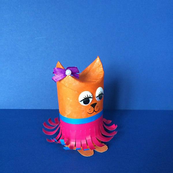кошка игрушка поделки из отходов