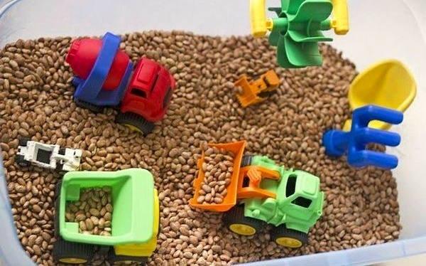 развивающие сенсорные игрушки