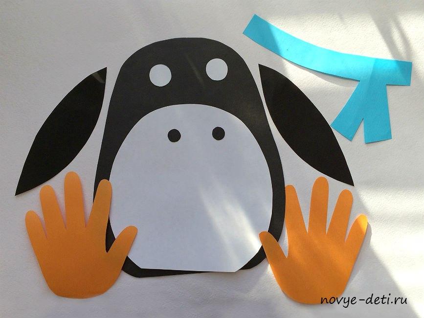 зимние поделки как сделать пингвина