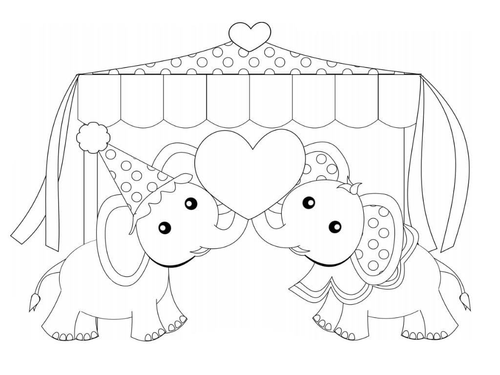 raskraska-slon-risunok-na-den-sv-valentina